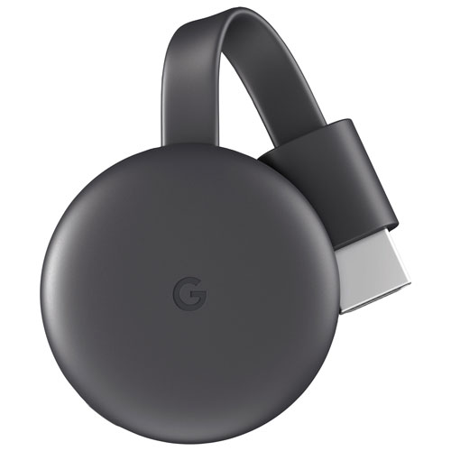 Google Chromecast - Charcoal Grey | Best Buy Canada