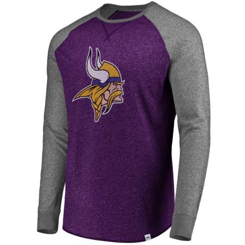 huge discount ba1c6 9db3f Minnesota Vikings NFL Static Raglan - Medium
