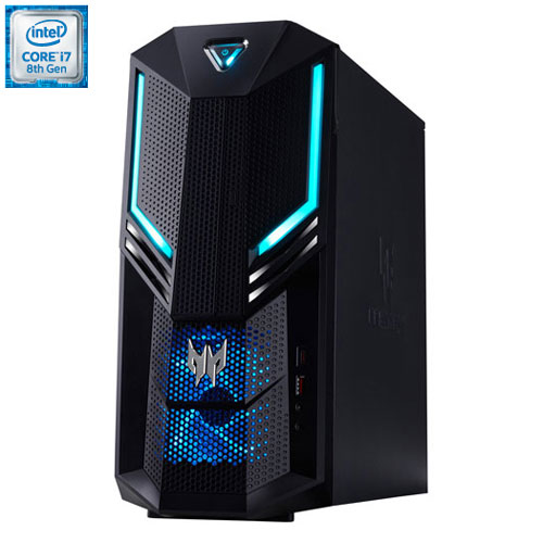 Acer Predator Orion 3000 Gaming PC (Intel Core Ci7-8700/1TB HDD/256GB SSD/16GB RAM/NVIDIA GTX 1070)