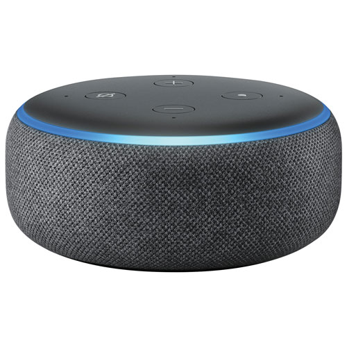 Amazon Echo Dot (3rd Gen) with Alexa - Charcoal
