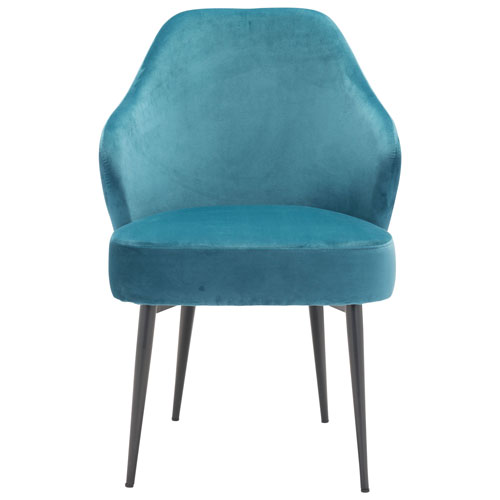Switch Modern Fabric Dining Chair Green Velvet Dining Chairs