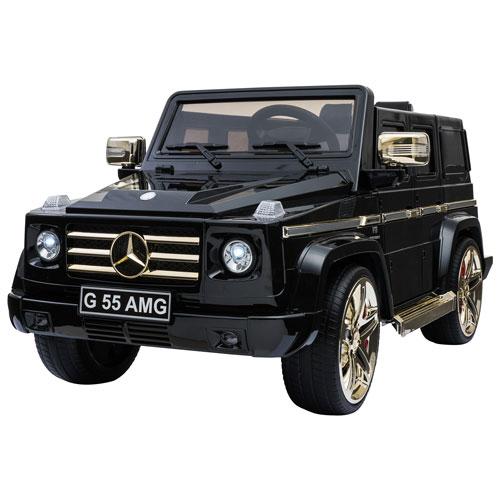 Kool Karz Mercedes-Benz G55 AMG Ride-On Toy - Black/Gold