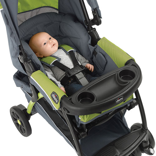 Chicco Cortina Cx Stroller With Keyfit 30 Infant Car Seat Iron Grey
