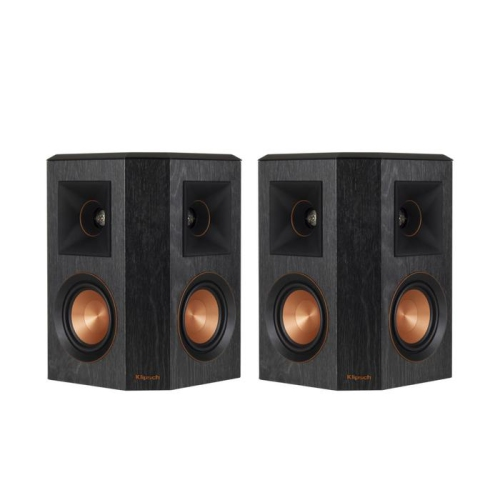 Klipsch RP402SB Reference Premier Dual 4 Inch Surround Speaker In BlackPairnbsp Bookshelf Speakers