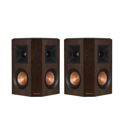 Klipsch RP402SW Reference Premier Dual 4 Inch Surround Speaker In WalnutPairnbsp Bookshelf Speakers