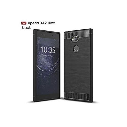 sale retailer 6b2bd 72676 Sony Xperia XA2 Ultra CaseMYLB Ultra Slim Lightweight Carbon Fiber Design  Flexible Soft TPU Case Highstrength Shockproof Prot