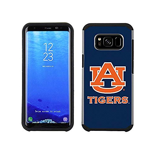 best website 4ff19 c19ff Prime Brands Group Textured Team Color Cell Phone Case Samsung Galaxy S8  Plus - NCAA Licensed Auburn University Tigers