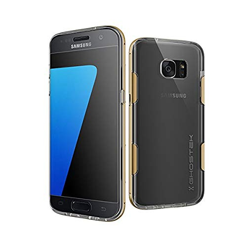 new concept d58e7 b787e S7 Edge Case Ghostek Cloak Series for Samsung Galaxy S7 Edge Slim  Protective Armor Case Cover(Gold)