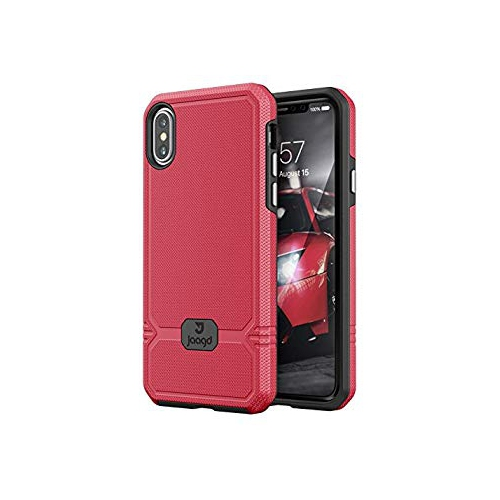 separation shoes 8620c 93596 New! Jaagd iPhone X Case Slim Shock-Absorbing Modern Slim Non-Slip Grip  Cell Phone Cases for Apple iPhone X (Mulberry Black) - Online Only