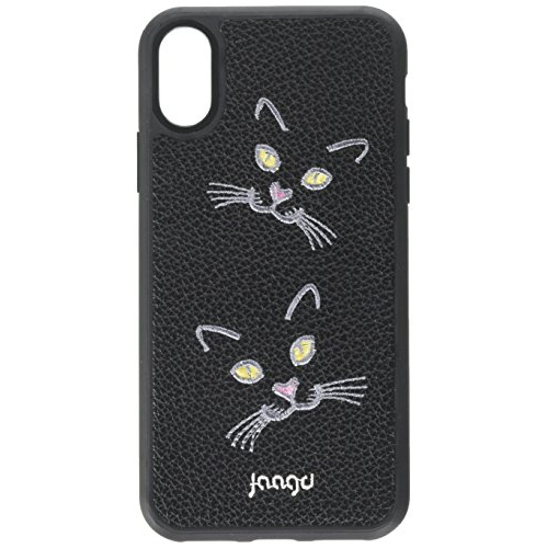 3caed5e29657 Jaagd Protective Shock-Absorbing Designer Embroidered iPhone X Case iPhone  10 Case Retail Packaging (Cat Lovin ) - Online Only