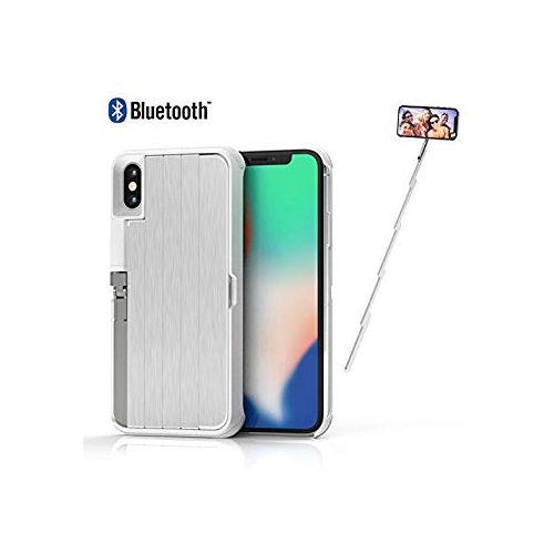 super popular 008d0 b9b70 New! Selfie Stick Case iPhone X ETROBOT 3 in 1 iPhone X Case Cover  Extendable Wireless Rechargeable Bluetooth Selfie Stick Aluminiu - Online  Only