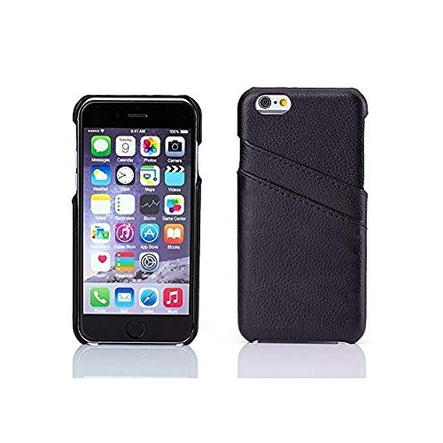 Iphone 7 Case Bastex Premium Genuine Leather Slim Fit Black Snap On Executive Wallet Card Case For Apple Iphone 7 Best Buy Canada