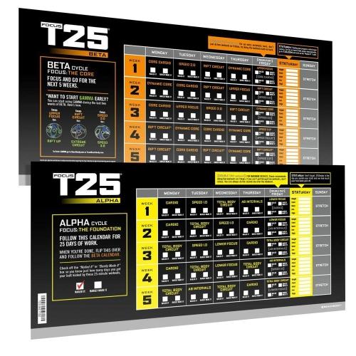 Shaun T  Focus T25 DVD Workout