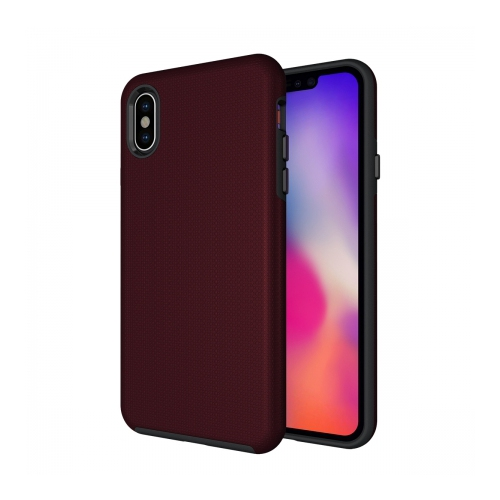 low priced 024bb eea04 Axessorize PROTech iPhone XS Max Burgundy Red