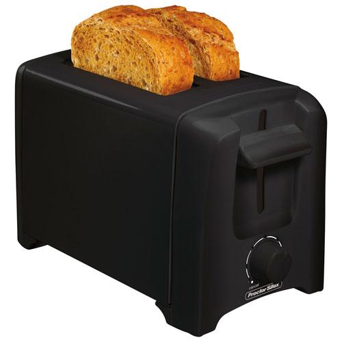 Proctor Silex Cool-Wall Toaster - 2-Slice - Black