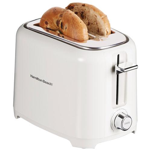Hamilton Beach Toaster - 2-Slice - White
