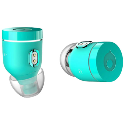 Crazybaby Air Nano In-Ear Noise Cancelling Truly Wireless Headphones - Atlantis Green