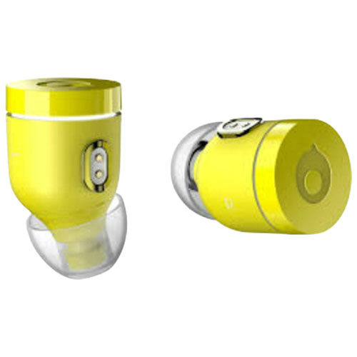 Crazybaby Air Nano In-Ear Noise Cancelling Truly Wireless Headphones - Austin Yellow