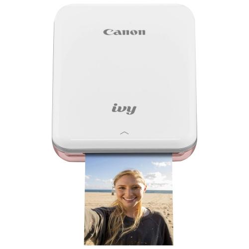 Mini-imprimante photo Canon IVY sans fil - Rose doré