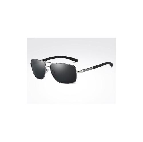 86f2f8af59 AIDIXI Fashion Men Polaroid Lens HD Polarized Sunglasses (Gray Silver)    Sunglasses - Best Buy Canada