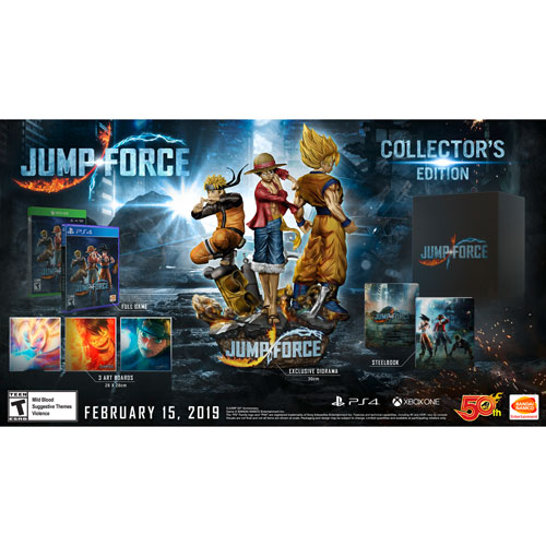 Jump Force Collector\u0027s Edition (PS4) | Best Buy Canada