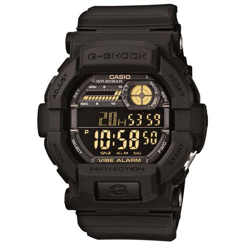 Montre sport numérique pour hommes de 53,4 mm de G-Shock - Noir - Doré