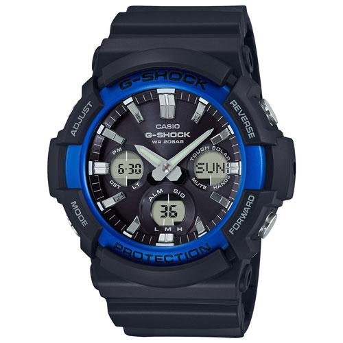 Montre sport chronographe de 55,1 mm pour hommes de G-Shock - Noir - Bleu