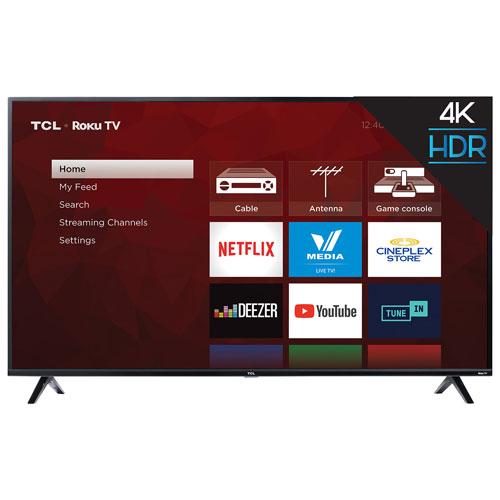 "TCL 4-Series 65"" 4K UHD HDR LED Roku OS Smart TV (65S425-CA)"