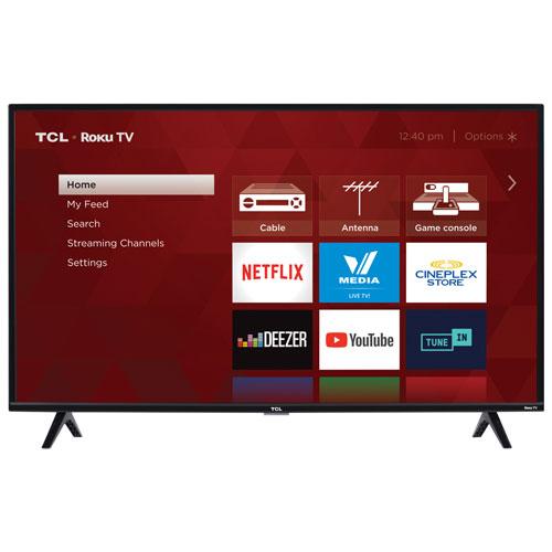 "TCL 3-Series 40"" 1080p HD LED Roku OS Smart TV (40S325-CA)"