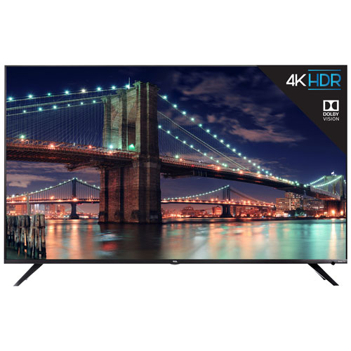 "TCL 6-Series 65"" 4K UHD HDR LED Roku OS Smart TV (65R615-CA)"