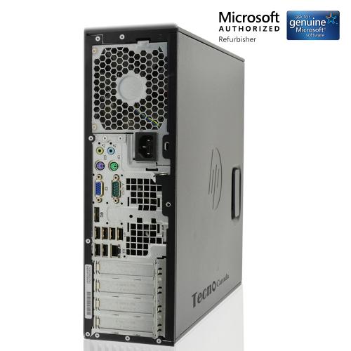 HP Compaq Z210 SFF Workstation Core i5 2400 8GB RAM 240GBSSD HDD DVDRW  Windows 10 Pro WiFi Adapter (Refurbished)