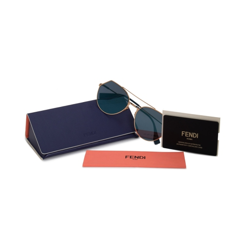 4f920fd649 Fendi Eyeline Pilot Sunglasses FF0194S 000 2A 55