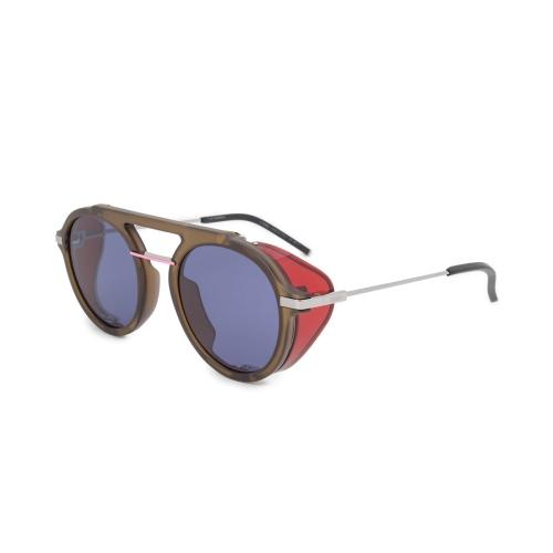 8cb12a279754 Fendi Aviator Sunglasses FFM0012S 1ED KU 52