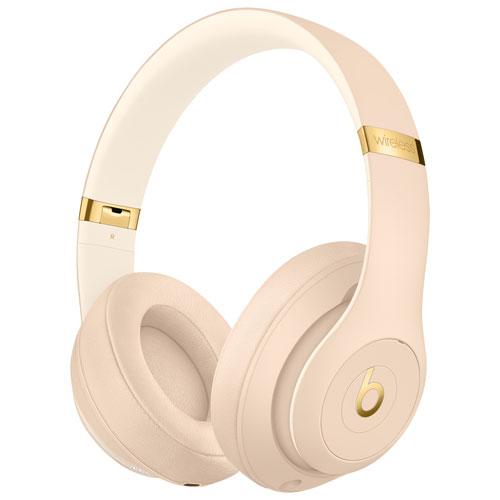 b2e6e5f3b37 Beats by Dr. Dre Studio3 Skyline Over-Ear Noise Cancelling Bluetooth  Headphones - Desert Sand | Best Buy Canada