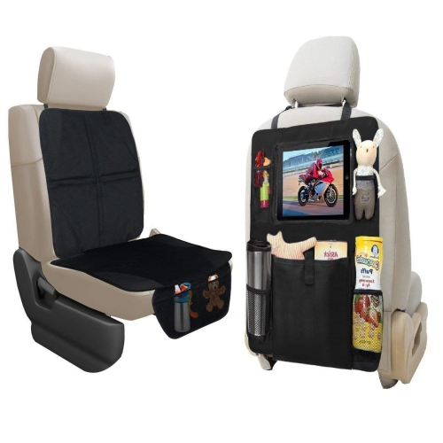Car Seat Protector With Tablet Holder Of Durable Quality And Protectors