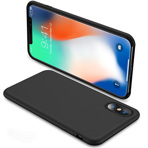 coque silicone noir iphone xr