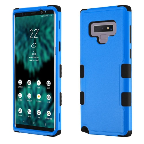 separation shoes 8241c 5c7c7 Insten For Samsung Galaxy Note 9 Blue Black Tuff Hard TPU Hybrid Plastic  Case Cover