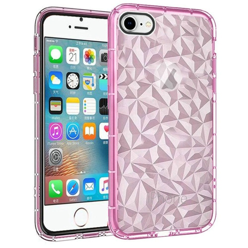Insten For Apple iPhone 5 5S SE Clear Pink Diamond Pattern TPU Case   iPhone  5s 0b1306d8b
