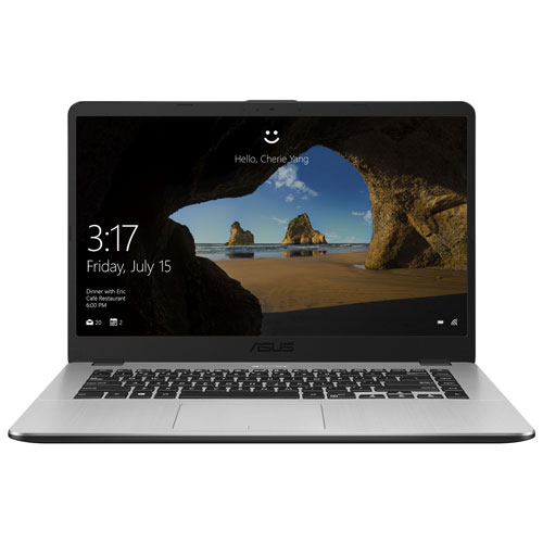 "ASUS VivoBook 15.6"" Laptop - Dark Grey (AMD Quad-Core R5-2500U/256GB SSD/8GB RAM/Windows 10)"
