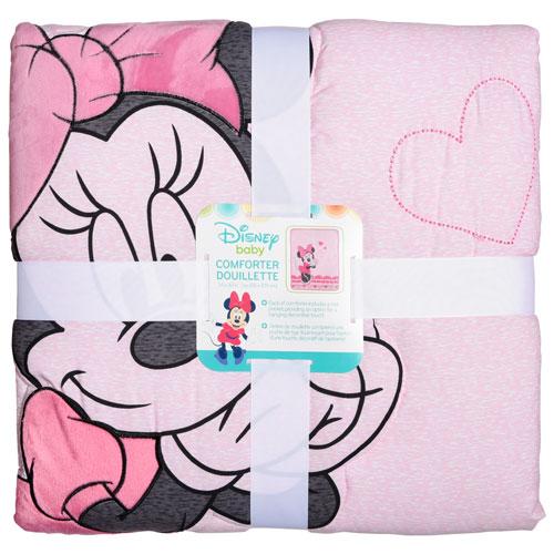 Couvre Lit En Polyester De Bebe Minnie Mouse De Disney Rose Minnie
