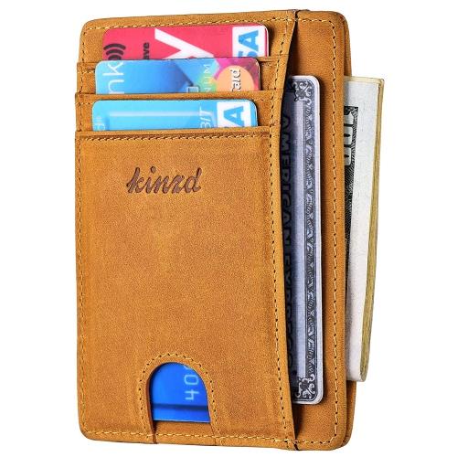 d5b674ca94d Slim Wallet RFID Front Pocket Wallet Minimalist Secure Thin Credit Card  Holder   Wallets - Best Buy Canada