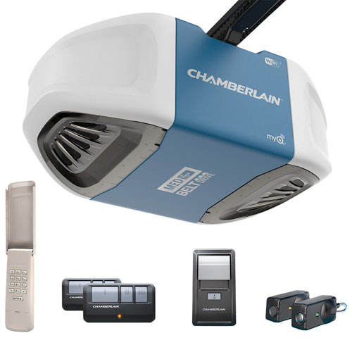 Chamberlain 0.5HP Belt Drive Smart Garage Door Opener B550C