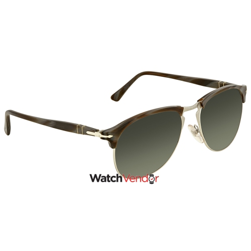 3c136831a0 Persol Polarized Green Gradient Aviator Men s Sunglasses PO8649S 1045M3 56  - Online Only