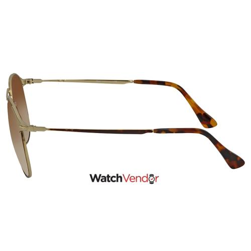 8de4a3f42 Persol 649 Series Brown Gradient Aviator Sunglasses PO2649S 107551 55    Best Buy Canada