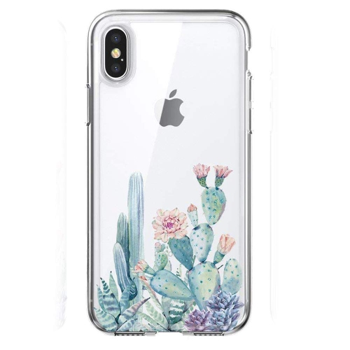 b1e9fbd45e iPhone XS Max Case with Flower,Slim Shockproof Clear Floral Pattern Soft  Flexible TPU Back Cover : iPhone XS Max Cases - Best Buy Canada