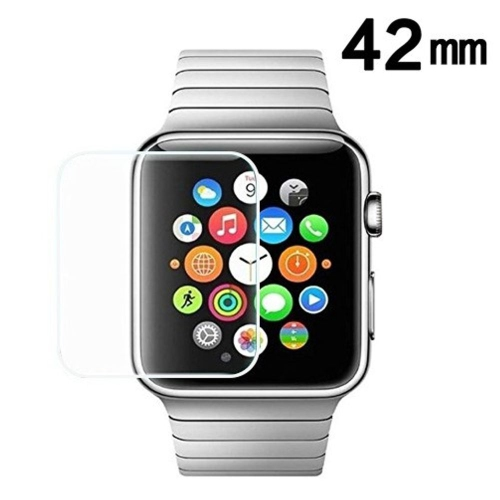 27211c22c47 Insten Clear Tempered Glass Screen Protector For Apple Watch Series 1 42mm  Watch Series 2 42mm Watch Series 3 42mm   Smartwatch Accessories - Best Buy  ...