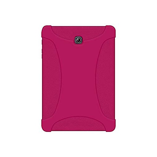 hot sale online cfac8 31390 Amzer AMZ97958 Rugged Silicone Skin Jelly Case for Samsung GALAXY Tab S2  8.0 SM-T710 Hot Pink