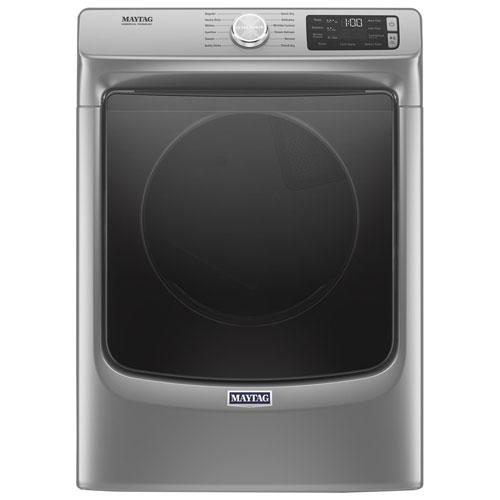 Maytag 7.4 Cu. Ft. Electric Steam Dryer - Chrome Shadow