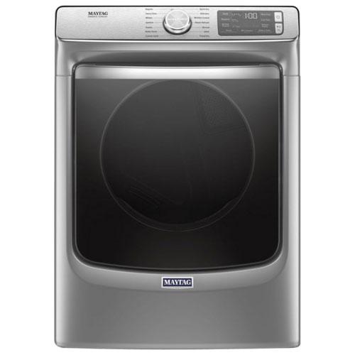Maytag 7.4 Cu. Ft. Gas Steam Dryer - Chrome Shadow