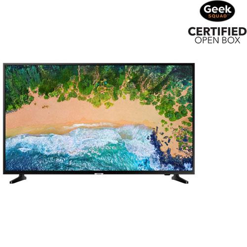 Téléviseur intelligent Tizen HDR DEL UHD 4K de 65 po de Samsung - Boîte ouverte